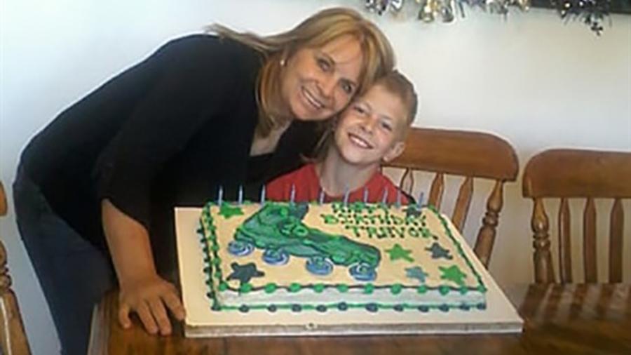 Dawna Langford y su hijo Trevor murieron en el ataque.