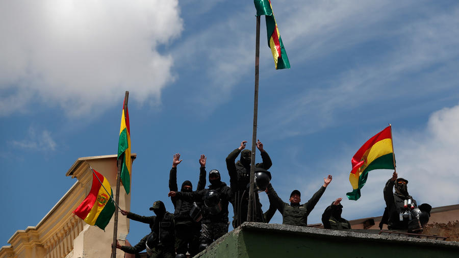 Oposición protesta en Bolivia hoy