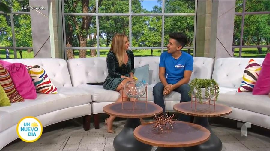 Jay en entrevista con Chiquibaby en Un Nuevo Día