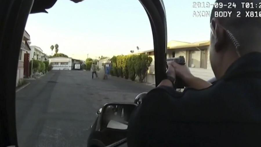 Policía mata a hispano