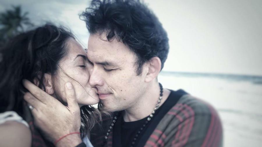 Bárbara Mori con Fernando Rovzar