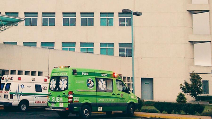 """Centro médico """"Adolfo López Mateos"""", donde un residente de cirugía se suicidó por acoso laboral."""