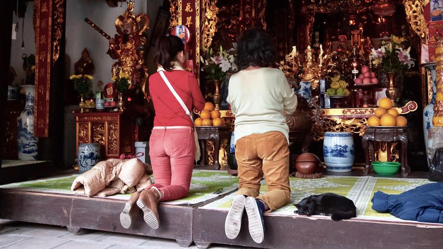 Mujeres budistas