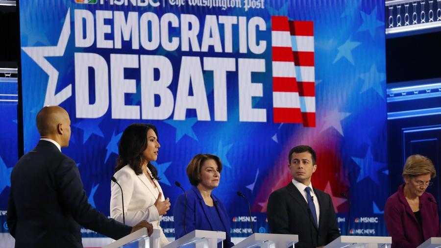 El quinto debate demócrata en Atlanta