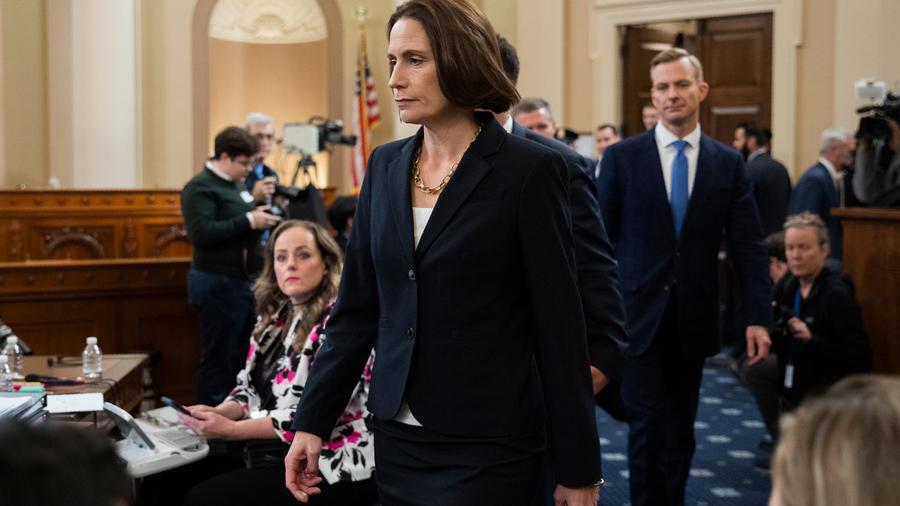 Exasesora de Seguridad Nacional de la Casa Blanca Fiona Hill.