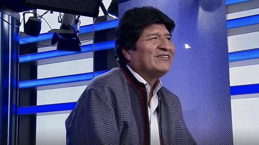 Evo Morales, entrevista Telemundo