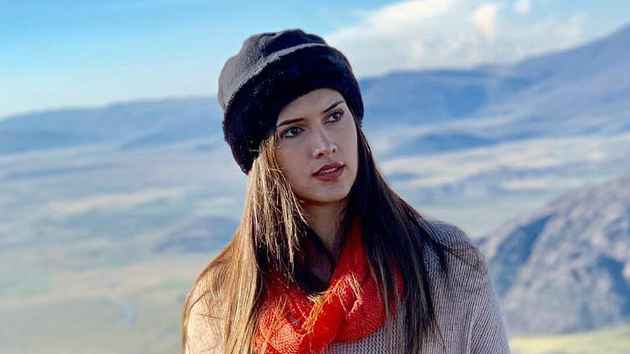 Kelin Rivera, Miss Perú 2019, Miss Universo 2019 posa en las montañas