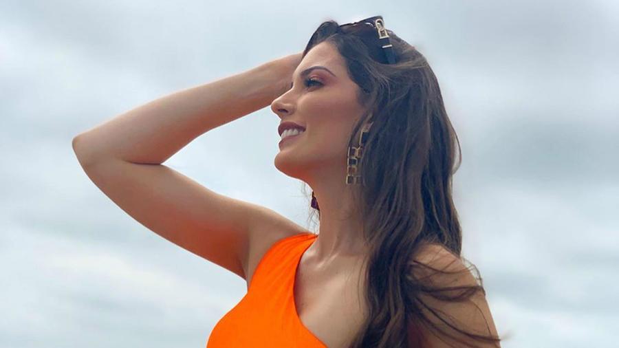 Cristina Hidalgo, Miss Ecuador 2019, Miss Universo 2019 posa en traje de baño