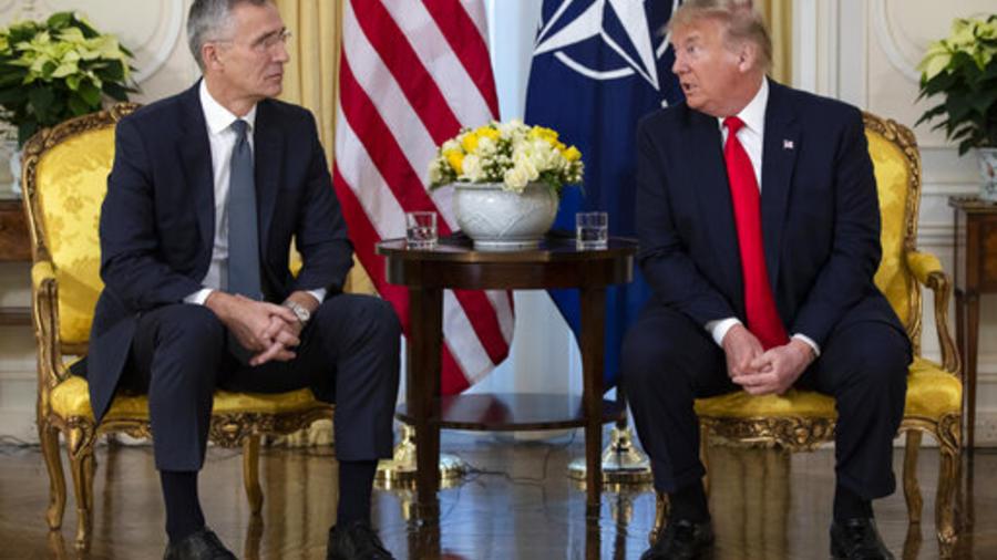 Donald Trump,Jens Stoltenberg