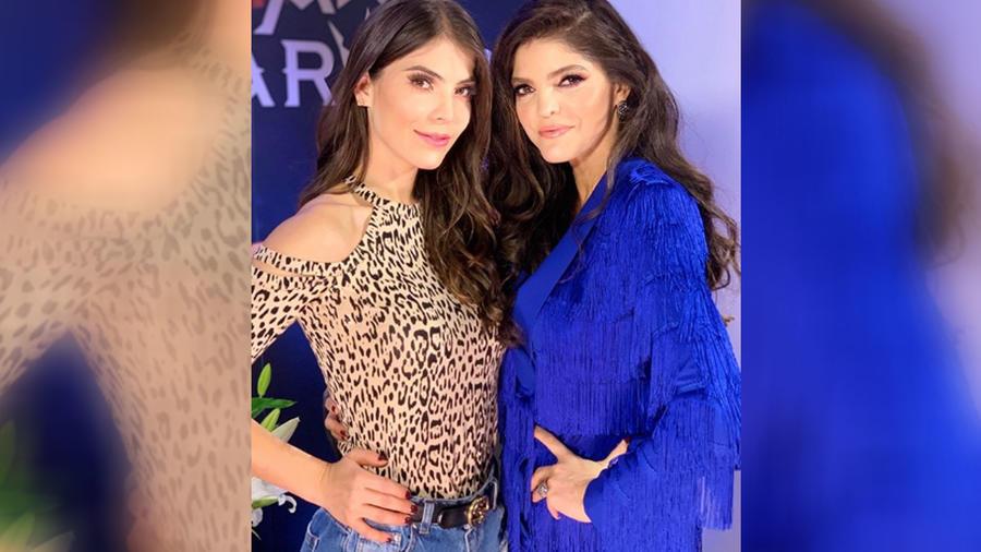 Ana Bárbara y Esmeralda Ugalde