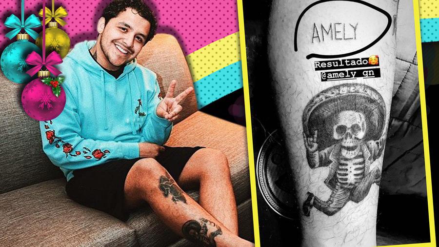 Christian Nodal Tatuaje