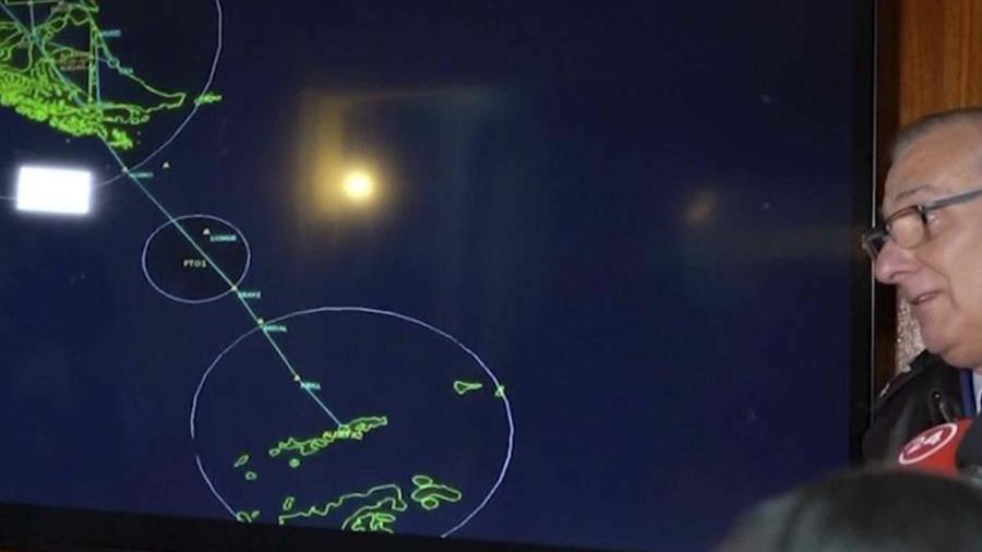 Desaparece avión de Chile
