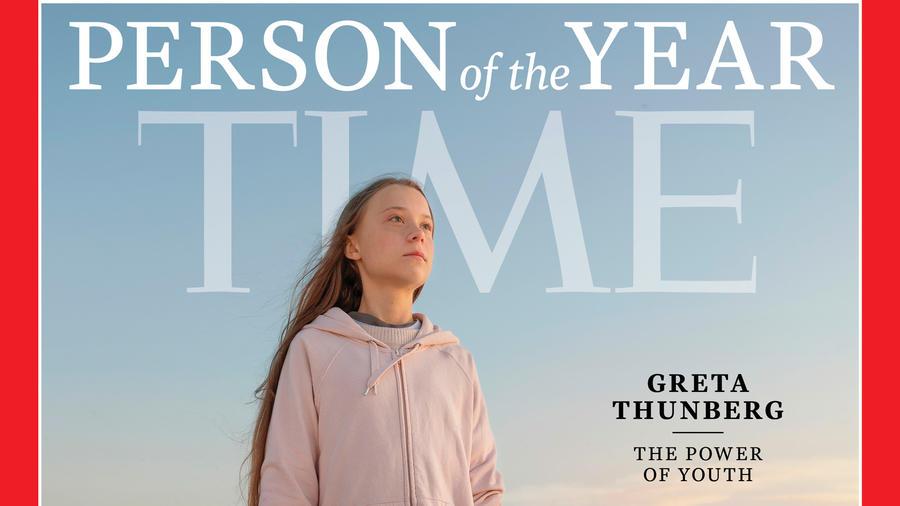 La joven activista Greta Thunberg es la persona del año de la revista Time