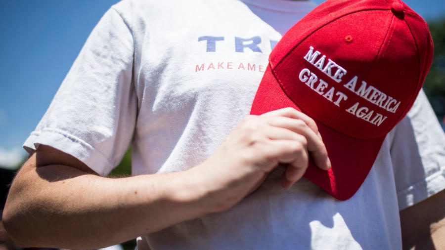 Pro-Trump Groups Meet To Clean Up Trash After 'Salute To America' Event