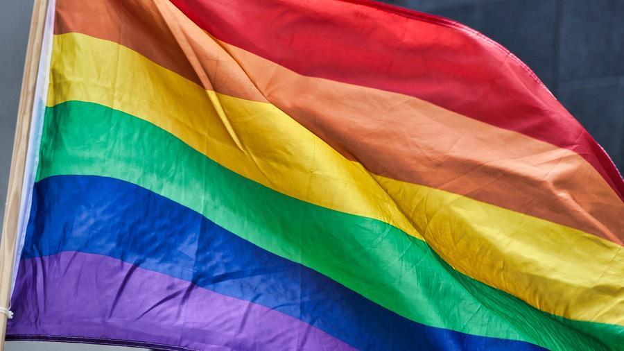 Bandera LGTBI.