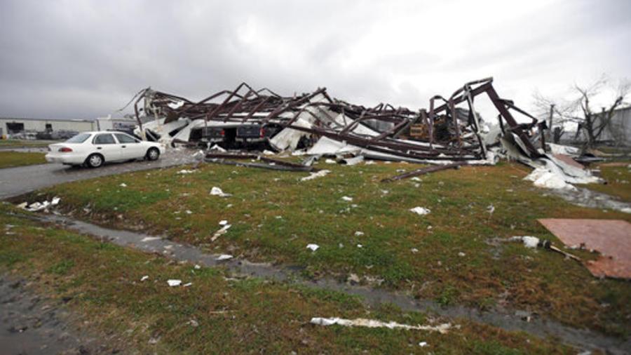 Tornado en Alexandria, Luisiana