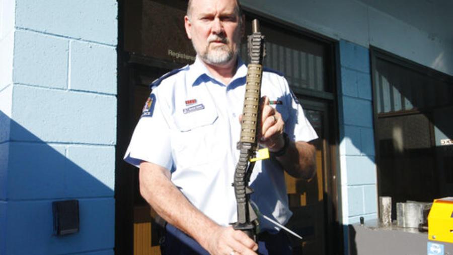 Armas Nueva Zelanda.