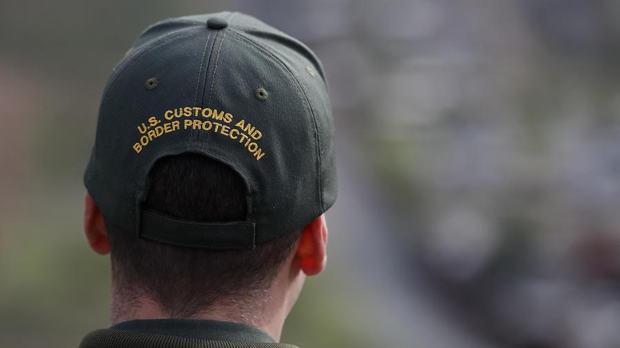 Un agente de la Patrulla Fronteriza de San Diego.