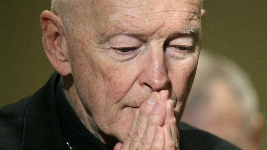 El entonces cardenal Theodore McCarrick, en una foto de 2011.