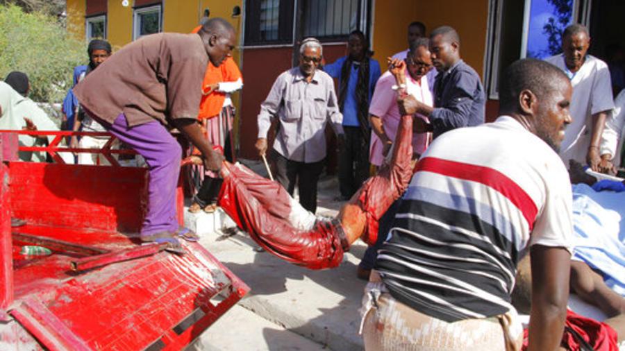 Explosión en Somalia.