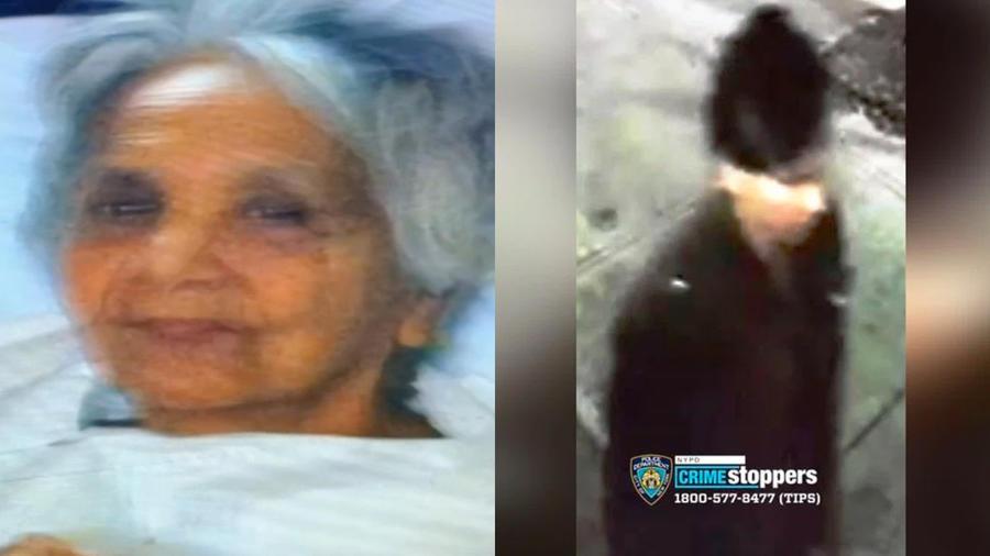 """A la izquierda, María Fuertes, conocida como """"la dama gato"""". A la derecha, el presunto responsable de su muerte."""