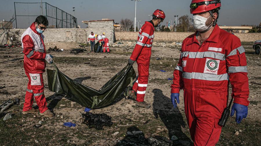Ukrainian plane crash in Iran