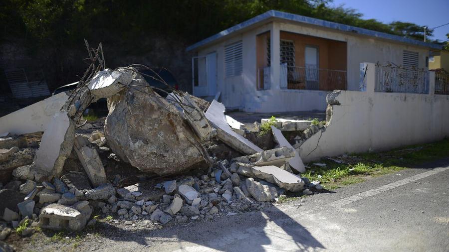 Puerto Rico sigue afectado por temblores en el sur de la isla