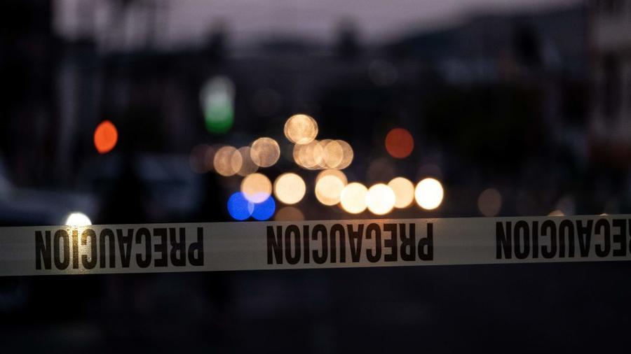 Una escena del crimen en Tijuana, México (imagen de archivo).