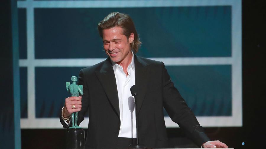 Brad Pitt SAG Awards 2020