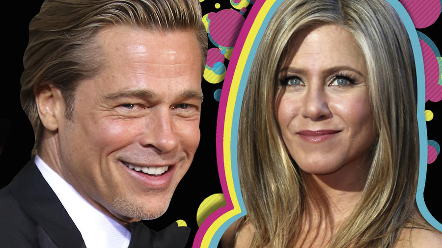 Brad Pitt y el recuentro con Jennifer Aniston