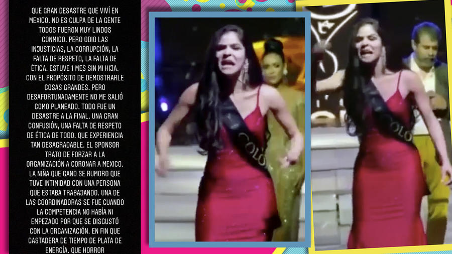 Jesenia Orozco arremete contra Miss Global instagram cover