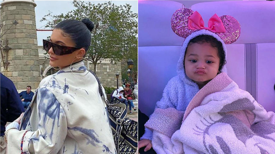 Kylie Jenner y Stormi Webster en Disney World