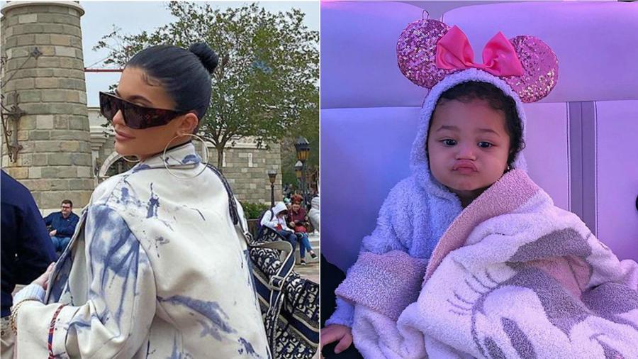 Kylie Jenner y Stormi Webster en Disney World