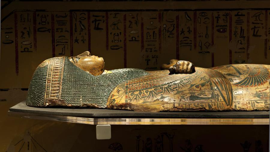 Sarcófago de la momia Nesyamun