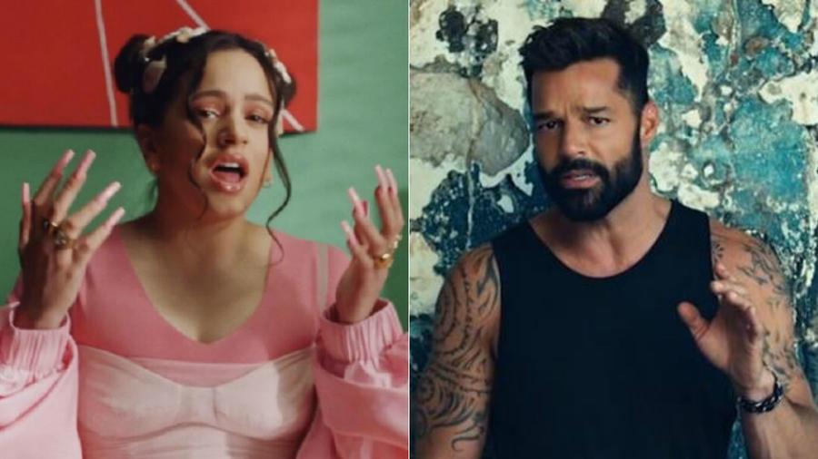 """Rosalía en video de """"Juro que""""; Ricky Martin en video de """"Tiburones"""""""