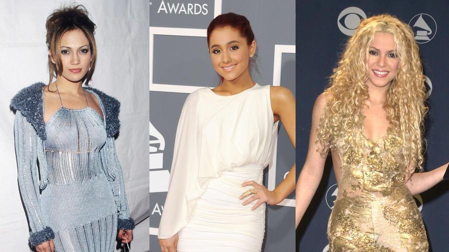 Jennifer Lopez, Ariana Grande y Shakira