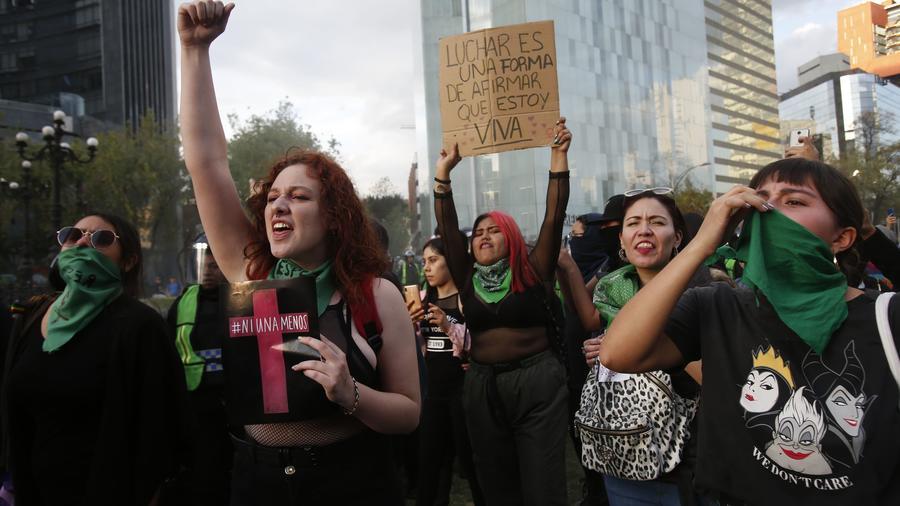 Protesta mujeres México