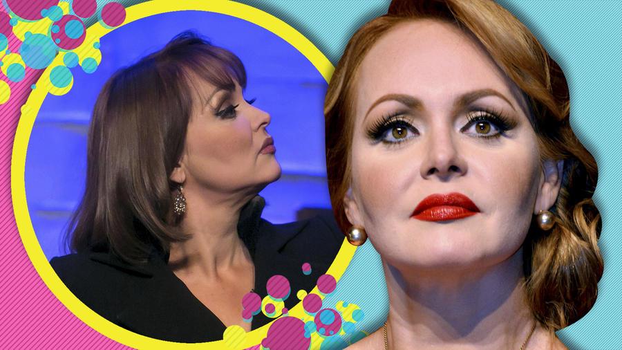 Gaby Spanic accidente en programa en vivo