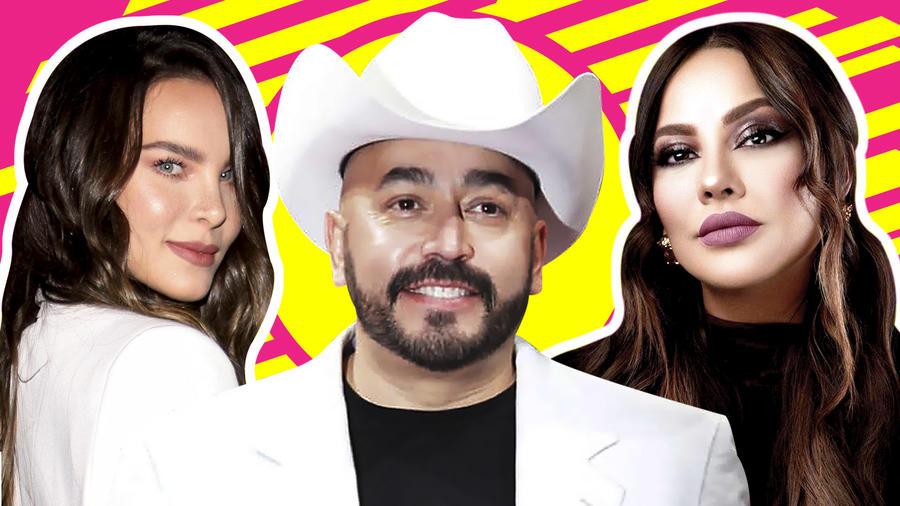 Lupillo Rivera confiesa amor por Belinda y Mayeli Alonso