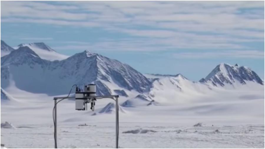 Antártica calentamiento global