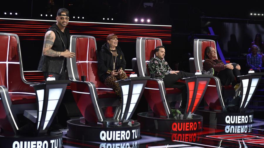 Luis Fonsi es bloqueado en las audiciones a ciegas de La Voz US 2