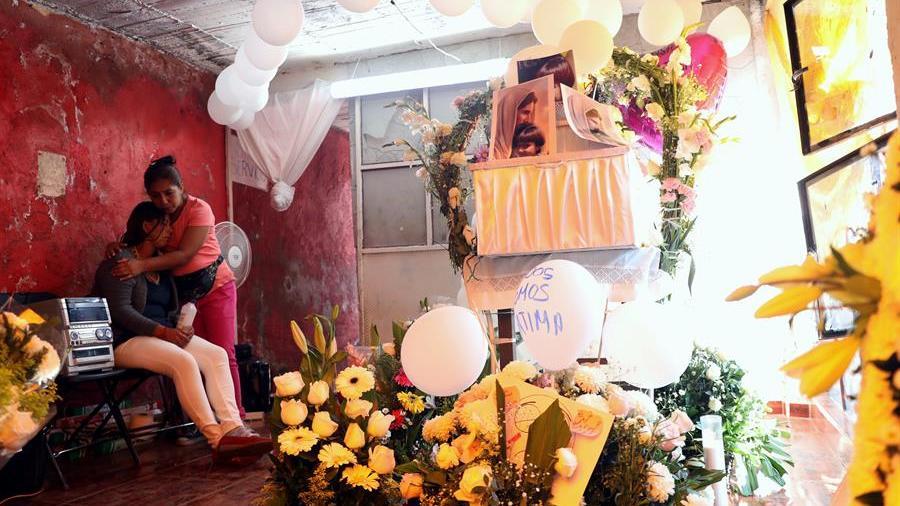 Funeral de Fatima Aldriguett