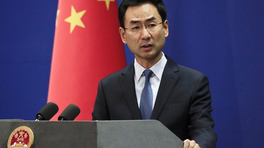 Geng Shuang, portavoz del Ministerio de Relaciones Exteriores de China