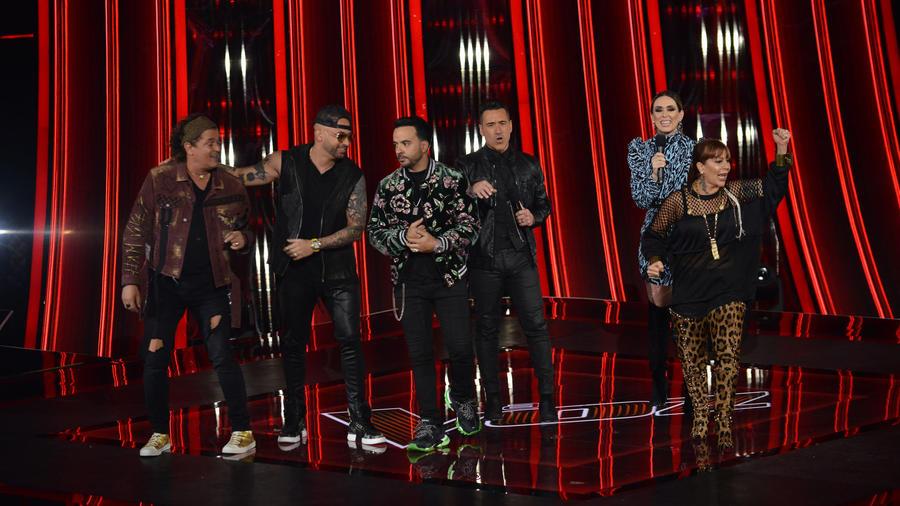Coaches y presentadores de La Voz US 2