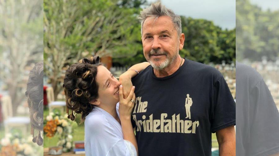 Ricardo Montaner y su hija Evaluna