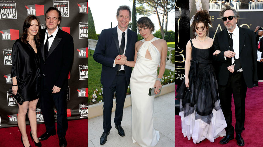 Directores y actrices enamorados