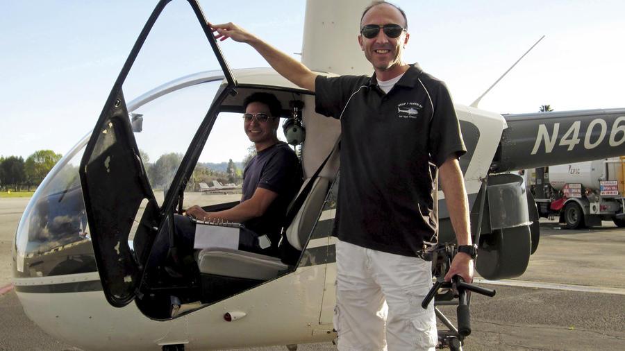 En esta fotografía sin fecha proporcionada por Group 3 Aviation se muestra al piloto Ara Zobayan.