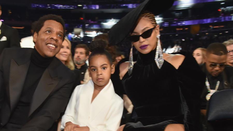 Beyoncé, Blue Ivy y Jay Z