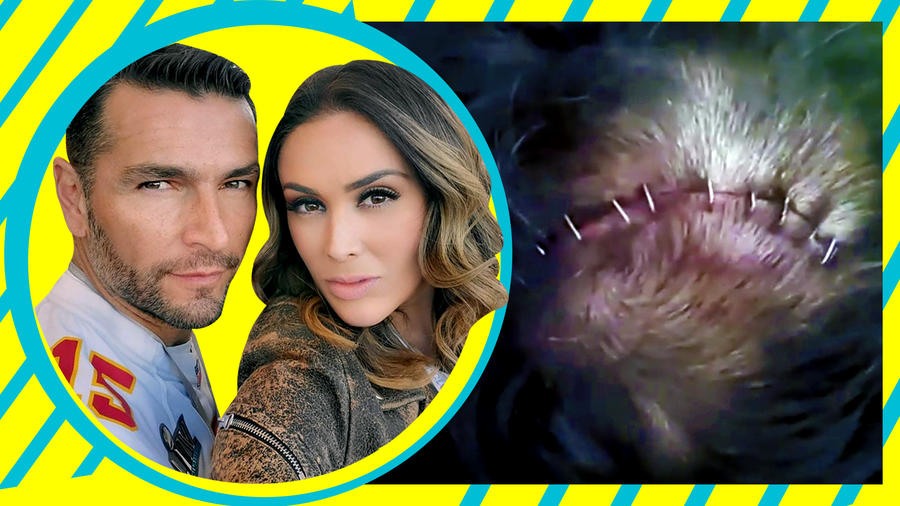 Jacky Bracamontes accidente del esposo