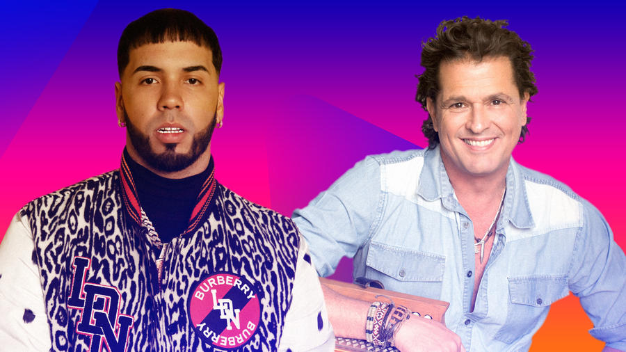 Carlos Vives and Anuel AA Set to Participate in 2020 Latinfest+